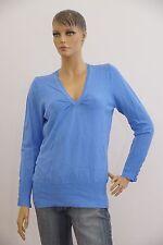C&A Damen dünner Pullover Langarm blau hellblau Größe L (1704B-BR-OH3)