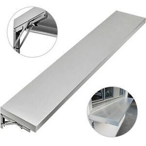 6 Foot Shelf for Concession Window Food Truck Accessories Business Stainless
