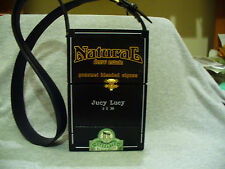 CIGAR BOX PURSE CUSTOM MADE WOODEN  JUCY LUCY DREW ESTATE VERY NICE!!!
