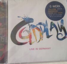 Coldplay CD Live In Germany Yellow Viva Rare U2 Joshua Oasis
