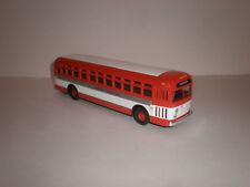 "1/50 Corgi GM-4507 Old look bus ""Allentown Suburban Lines"" custom painted"