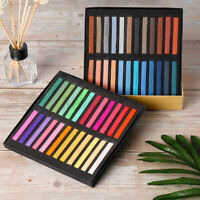 48 Colours SHINHAN ART Artists Soft Square Pastels Set Full Stick Chalk