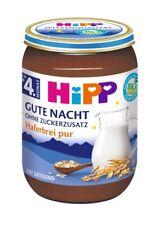 MHD 31.08. Hipp lait breie dans le verre Porridge pur 4. Mois 190 g (18,42 eur/1...