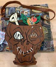 Disney World Trader Sams Shrunken Zombie Head Purse Bag Grog Grotto Polynesian