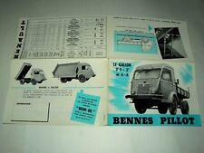 Prospectus Camion 1000 KG RENAULT PILLOT  Fourgon Truck LKW Catalogue Brochure