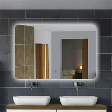 NODECORAPORT Horizontal LED Lighted Bath Vanity Wall Backlit Mirror Touch Button