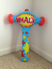 "18.5"" Inflatable Whack Hammer Blow Up <<<Brand New>>> Silly Clown Hammer"