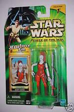 "Aurra Sing Star Wars Power of the Jedi 4"" Hasbro figure"