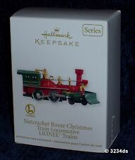 2012 Hallmark NUTCRACKER Route Christmas Locomotive #17 LIONEL Trains Ornament