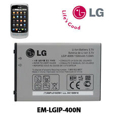 ## GENUINE OEM LG GW820 GW620 GT540 Battery MODEL LGIP-400N SBPP0027401