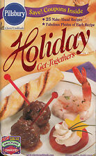 HOLIDAY GET TOGETHERS PILLSBURY COOKBOOK DECEMBER 2001 #250 APPETIZERS, DESSERTS