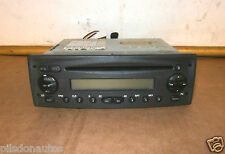 FIAT RADIO STEREO CD PLAYER UNIT