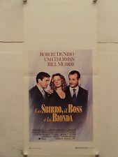 LO SBIRRO IL BOSS E LA BIONDA regia John McNaughton locandina orig. 1993