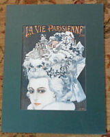LA VIE PARISIENNE French Magazine FRONT COVER in MAT