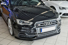For Audi A3 8V Front Bumper Lip Cup Skirt Lower spoiler Chin Valance Splitter