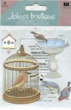 BIRDS Bird Seed Birdbath Cage Pet Birdhouse Watching Feeding Jolee's stickers