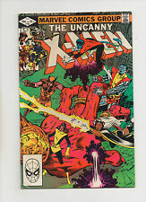 Uncanny X-Men #160 - Giant Hand Cover Attacking Team - (Grade 7.0) 1982