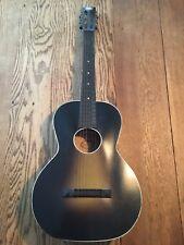 Vintage Oahu Parlor Acoustic Guitar 1930s Sunburst