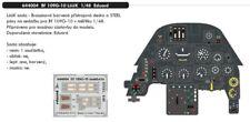 Eduard LooK 644004 1/48 Messerschmitt Bf-109G-10 Inst. Panel & Seatbelts Eduard