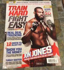 Holiday 2012 TRAIN HARD FIGHT EASY MAGAZINE - JON JONES UFC -MMA - US Edition