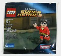 LEGO DC PLASTIC MAN MINIFIGURE 5004081 POLYBAG SUPER HEROES - NEW SEALED