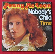 Penny McLean, nobody's child / time, SP - 45 tours