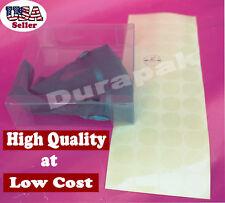 "240 pieces 1"" Diameter Round Seal Label Sticker Self Adhesive Box Bottom Closure"