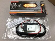 "Buyers Brand New  6 1/2"" Oval Amber Strobe Light, Recessed SL65AO"