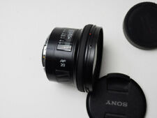 SONY Minolta A-Mount AF 20mm f2.8 Lens MINT