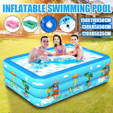 Family Swimming Pool Outdoor Garden Summer Inflatable Kids Adults Pool Backyard