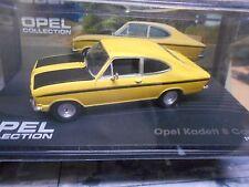 OPEL Kadett B coupe Sport Rallye gelb schwarz 1965 - 1973 IXO Altaya 1:43