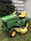 "John Deere 345 Lawn Mower Tractor 20HP Kawasaki Twin Engine 54"" Deck!"