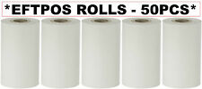 50 EFTPOS ROLLS for Verifone VX-820 Credit Card Terminal Thermal Paper 57.40 mm