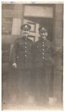 Postcard WW1 Soldiers Brothers Unknown Regiment British Army Military RPPC 12a