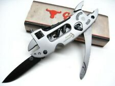 Cattleman Cc0020 Cutlery Stainless Ranch Hand Multi-Tool Pliers Knife Wrench