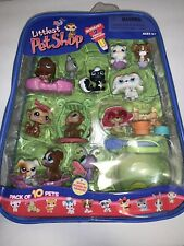 Littlest Pet Shop 13-Pack Pets in Carry Case w/Accessories, 2006 Release RARE