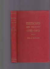 Memoirs ... Various Travels & My Sojourn in the Creek Nation, Le Clerc Milfort