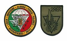 Two different French Foreign Legion 2e REP patches Para