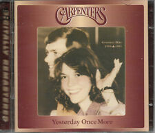 The Carpenters - Yestsreday Once More (1969-1983) NEW UK 2 CD Digital Remastered