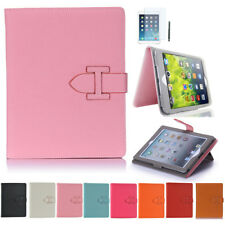 iPad 4 iPad 3 iPad 2 Case Smart Cover Schutz Hülle Etui Tasche mit Handschlaufe