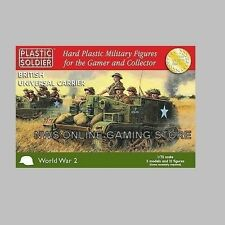 20mm 1/72 WWII British Universal Carrier  (3)  PLASTIC SOLDIER COMPANY NEW