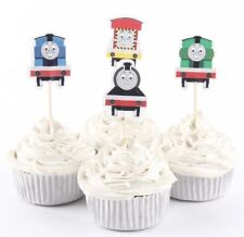 NEW Thomas the Tank Engine Theme Character Cupcake Toppers x 24 - For Parties