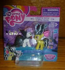 "My Little Pony Nightmare Night SWEETIE BELLE & APPLE BLOOM 2"" Mini Figures"