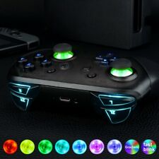 7 Colors Thumbsticks Classic Symbol Buttons DTFS LED Kit for NS Pro Controller