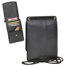 Esquire Cuero Bolsa de pecho Monedero La Cartera Viajes Safe bolsillo interior