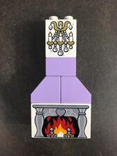 Lego Duplo 6154 Disney's Cinderella's Castle Replacement Fireplace & Chandelier