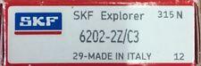 6202-2Z/C3 SKF Bearing 15x35x11 (mm)