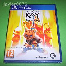 LEGEND OF KAY ANNIVERSARY NUEVO Y PRECINTADO PAL ESPAÑA PLAYSTATION 4