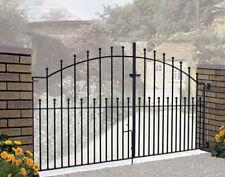 Saxon Metal Double Driveway Gates 2438mm (8ft) GAP W x 1255mm H PAIR