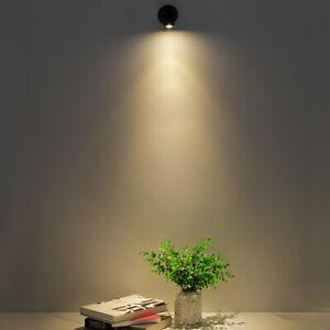 3W LED Desk Reading Light Cabinet Lamp Yacht Adjustable Spotlight Switch DC 12V